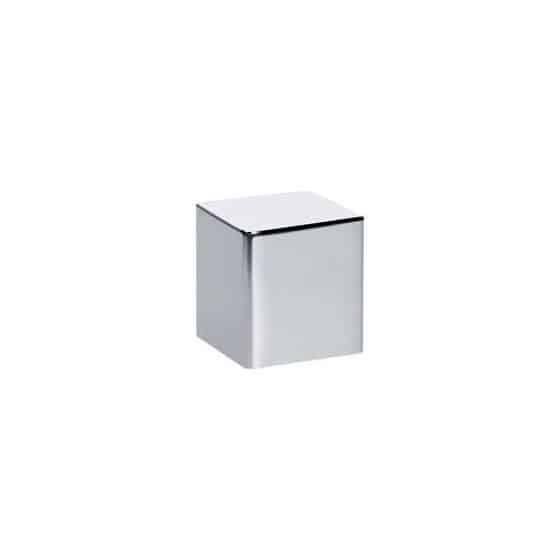 Bouton rotatif cube Franke finition chromée