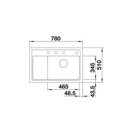 Blanco Zenar XL 6S Compact Silgranit